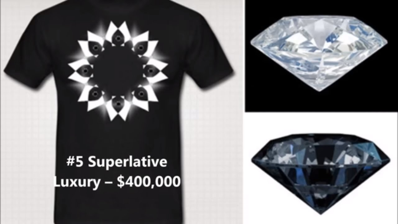 95cd8841d58 Top 5 most expensive t-shirts in the world- believe it or not - YouTube