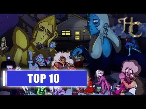 Steven Universe - Top 10 Strongest Gems  / Вселенная Стивена - Топ 10 сильнейших самоцветов