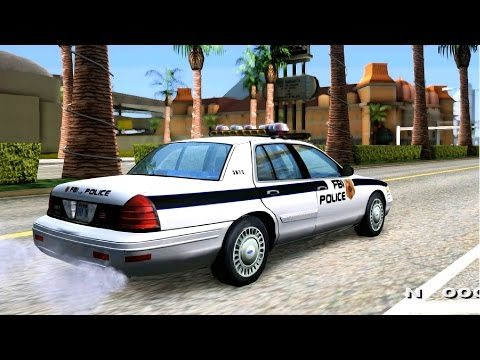 2003 Ford Crown Victoria FBI Police - GTA MOD _REVIEW