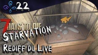 Je vous présente Bubulle ! - 7 Days to die Mod Starvation - Rediff de Live #22