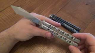 Knife Review : Benchmade Model 67 Balisong
