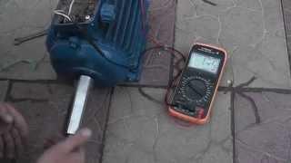 видео Генератор из асинхронного двигателя
