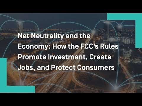 Net Neutrality and the Economy