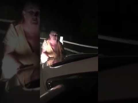 Woman Screaming MIKE In Front Of Car