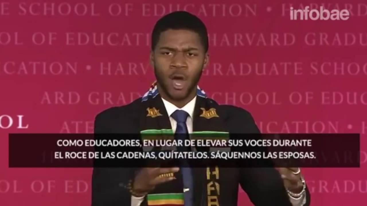 Discurso Motivacional Del Estudiante Donovan Livington Graduación De Harvard Español