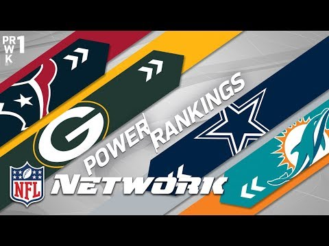 Preseason Power Rankings: Packers Over Raiders? Giants & Seahawks Over Cowboys? | NFL Network