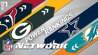 Preseason Power Rankings: Packers Over Raiders? Giants & Seahawks Over Cowboys? | NFL Network
