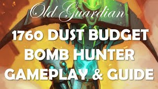 Budget Bomb Hunter deck guide and gameplay (Hearthstone Rise of Shadows)