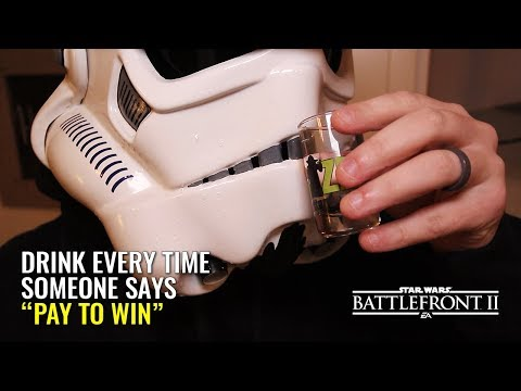 Pay to Win - A Star Wars Battlefront 2 Drinking Game