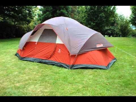 Coleman Family Dome Tent & Coleman Family Dome Tent - YouTube