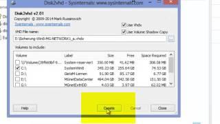 Microsoft Hyper-V: P2V
