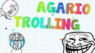 Agar.io TROLLING