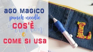 MAGIC NEEDLE for embroidery: WHAT IS IT, HOW IT WORKS, HOW TO USE IT - step by step tutorials
