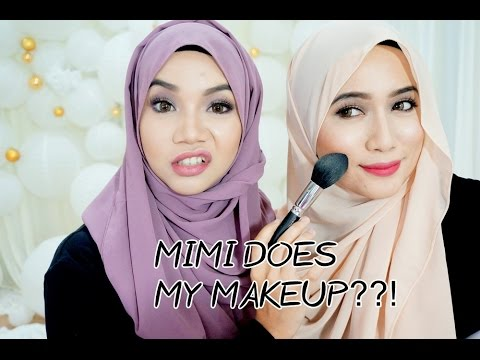 Watch us get ready for a  photoshoot :  Part 1 | Mimi does my makeup