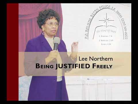 Lee Northern: Being Justified Freely