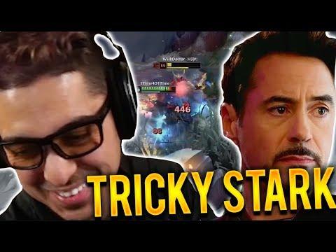DYR JUNGLE CARRY | THEY SAID I LOOK LIKE TONY STARK?? FT TOXIC SQUAD - Trick2G