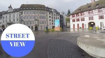 Schaffhausen am Rhein in SWITZERLAND