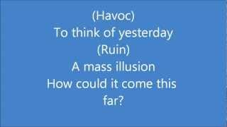 Eluveitie-Havoc (lyrics in video) HD