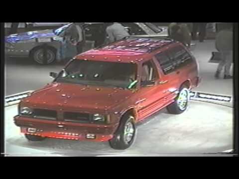 1992 Detroit Auto Show Oldsmobile