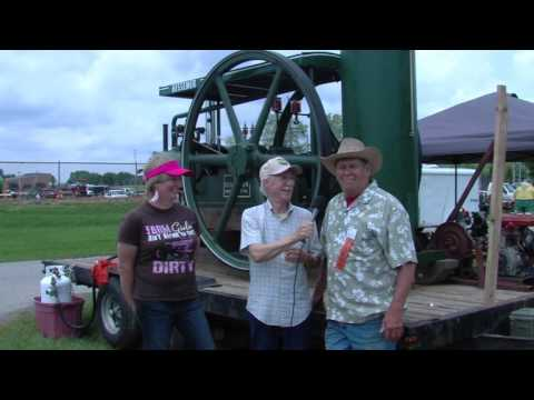 In Ohio Country Today t.v. show - Buckeye Farm Antiques Show segment