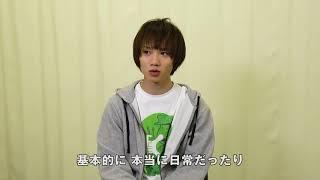 舞台『おそ松さんon STAGE 〜SIX MEN'S SHOW TIME 2〜』出演者からメッ...