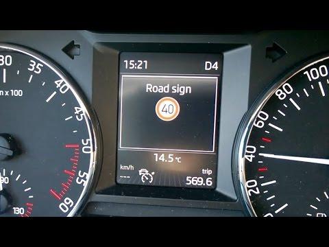 Skoda Octavia 3, MY2015 - Traffic Sign Assist activation ...