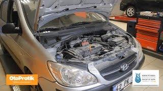 Hyundai Getz 10.000 km Bakım Nasıl Yapılır ? *** Getz oil change and periodic maintenance ***