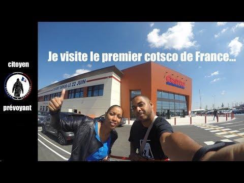 je visite le premier Costco de france avec ma soeur