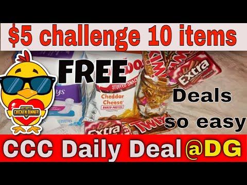 Dollar General $5 Challenge! 💥All Digital