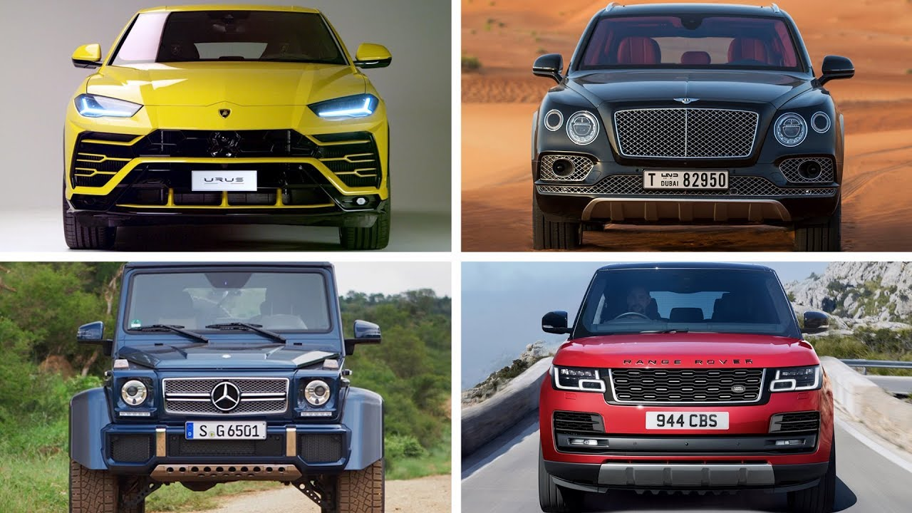 The Best Luxury Cars Of 2018: TOP 10 Best Luxury SUV 2018