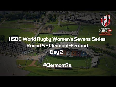 HSBC World Rugby Women's Sevens Series – Clermont-Ferrand Day 2 START