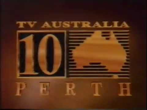 TV Australia Channel 10 Perth 1990