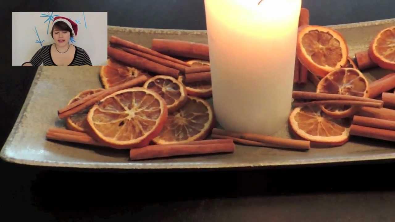 orangen selber trocknen