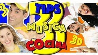 INSTRUMENTOS MUSICALES  CASEROS / COCINA  Y TIPS para niños (capitulo 3 )