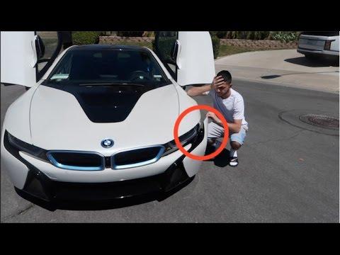 UPDATE ON MY CRASHED BMW i8