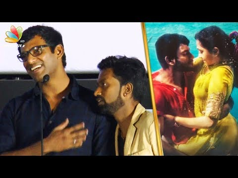 Underwater la Evalo Enjoy Paninga : Jagan Trolls Vishal | Mr Chandramouli Audio Launch