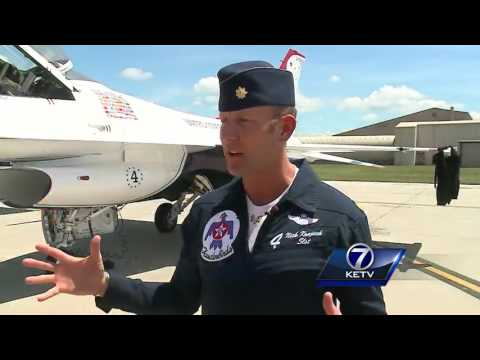 Nebraska native excited to fly with Thunderbirds at Offutt Air Show
