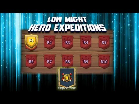 Castle Clash F2p Episode 15: Low Might Hero Expeditions