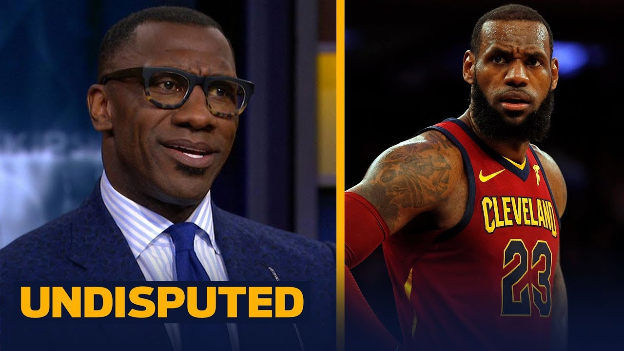 online store f3ce1 ccb5d Shannon Sharpe challenges LeBron's teammates to step up after Cavs' Game 2  win vs IND | UNDISPUTED