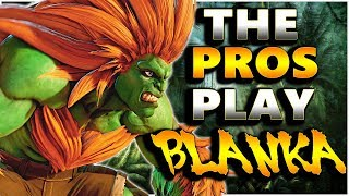 SFV AE - The Pros Play Blanka | FT. Infiltration - Xian - Valle & More | Compilation - SF5