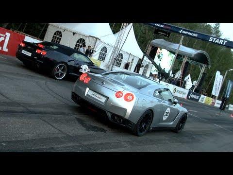 Chevrolet Camaro SS LPE vs Nissan GT-R Cobb Stage 2