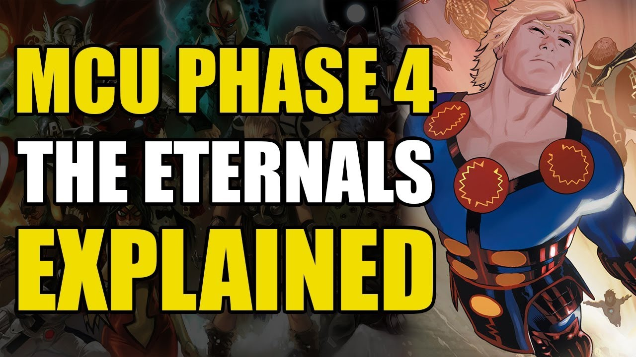 Marvel's Eternals explained: Everything we know about Phase 4 ...