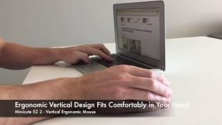 Minicute EZ 2 Vertical Ergonomic Mouse