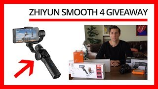 Camera Gear Giveaway! Canon t2i, Zhiyun Smooth, hard drives and more!