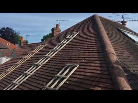 Sloping Roof System Pitched Roof Ladder Conservator