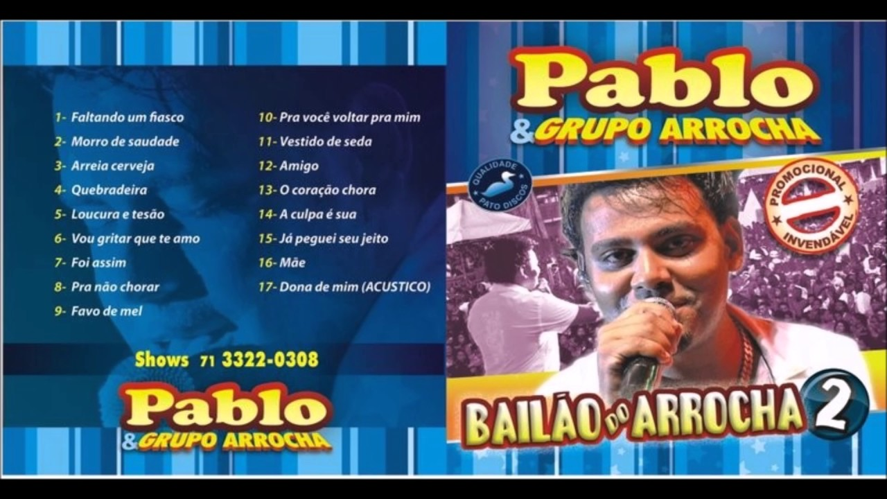 cd de pablo do arrocha 2011