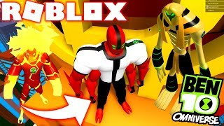 ROBLOX! -BEN 10 4 ARMS THE STRONGEST ALIEN? -INCREDIBLE BEN 10 SIMULATOR