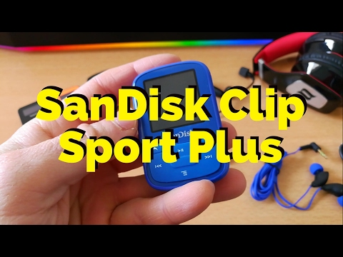 🔥 SanDisk Clip Sport Plus - MP3 Player with Bluetooth  🔥