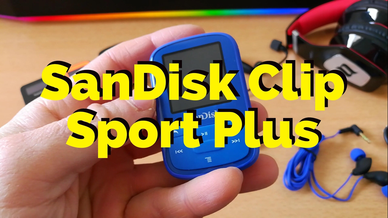 sandisk clip sport plus mp3 player with bluetooth youtube. Black Bedroom Furniture Sets. Home Design Ideas
