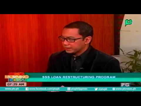[Good Morning Boss] Usapang SSS: SSS loan restructuring program [06|29|16] - YouTube